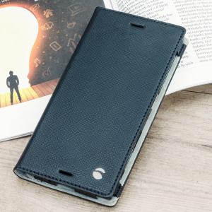 The Malmo Folio Cover from Krusell in black is beautifully crafted in a textured material with a slim look which offers fantastic all round protection for Sony Xperia XZ. This is a classic option for work or the weekend.