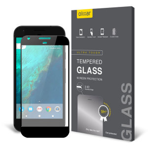 This Olixar ultra-thin tempered glass screen protector for the Google Pixel XL offers toughness, high visibility and sensitivity all in one package.