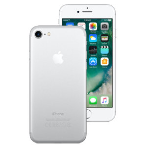 Unlocked 32GB iPhone 7 Plus in silver. With a 4.7 inch display featuring a 750 x 1334 resolution, 12MP camera and running iOS 10 - this Apple smartphone is ready for anything you can throw at it.