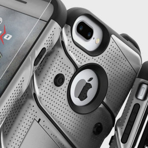 Equipe su iPhone 7 Plus con esta funda con una protección de grado militar. Incluye además un clip de cinturón.