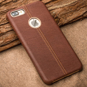 Made from premium leather sourced from Tuscany Italy, this exquisite brown case for the iPhone 7 Plus provides stunning style and protection for your device in a slim and sleek package.