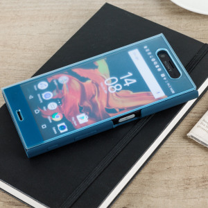 This official SCTF10 Style Cover Touch in blue from Sony houses your Xperia XZ, providing protection and full functionality through the see-through touchscreen font cover, allowing you to view and action incoming messages and calls.