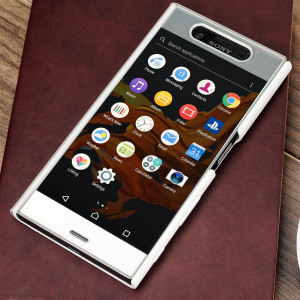 Coque Tactile Officielle Sony Xperia XZ - Blanche