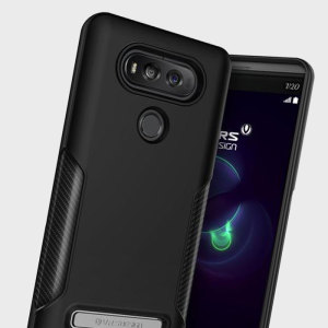 Meet the newly designed VRS Carbon Fit Series case for the LG V20. Made from flexible, rugged TPU and featuring a mechanical design, including a carbon fibre texture, this tough case in black keeps your phone safe and slim.