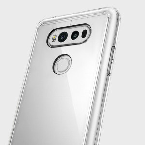 Protect the back and sides your LG V20 with this incredibly durable and clear backed Fusion Case by Ringke.