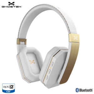 Casque Bluetooth Ghostek SoDrop 2 Premium Reduction Bruit - Blanc
