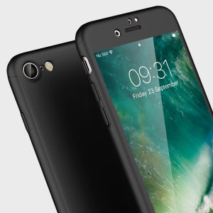 Full front, back and screen protection is as easy as 1-2-3 with the Olixar XTrio in black. With a slimline shell for the back and front that clips together seamlessly and a tempered glass screen protector, your iPhone 7 is fully encased and safe.