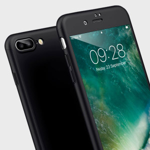 Full front, back and screen protection is as easy as 1-2-3 with the Olixar X-Trio in black. With a slimline shell for the back and front that clips together seamlessly and a tempered glass screen protector, your iPhone 7 Plus is fully encased and safe.