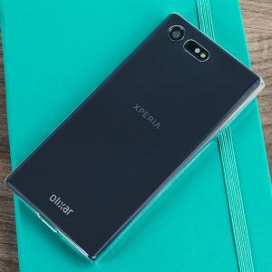 Proteggi con stile il tuo Sony Xperia X Compact con questa custodia Ultra Thin di Olixar, dal design sottile e trasparente.