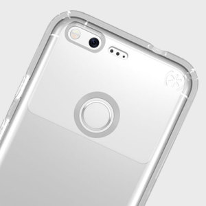 Meet the Speck Presidio - the evolution of the popular CandyShell case. An ultra-rugged clear case made from two different protective layers for the Google Pixel XL from Speck. Features enhanced drop protection, 100% clear finish and reduced bulk.