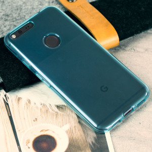 Custom moulded for the Google Pixel, this light blue Olixar FlexiShield case provides slim fitting and durable protection against damage.
