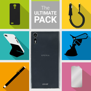 The Ultimate Pack for the Sony Xperia XZ consists of fantastic must have accessories designed specifically for the Sony Xperia XZ.