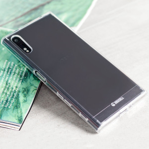 This 100% clear slim shell case made of polycarbonate and TPU provides durable protection for your Sony Xperia XZ, while maintaining its slender profile.