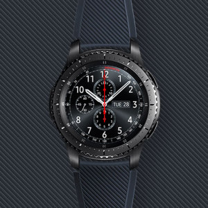 Treat your brand new Gear S3 smartwatch with the ultra-high quality Active Silicon strap in black. Comfortable, durable and stylish, this strap is the perfect way to personalise your Gear S3. Size M.