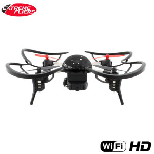 Meet the small, lightweight and quite simply amazing Micro Drone 3.0. This combo pack features the fast and easy to control Micro Drone 3.0, Wi-Fi HD camera for recording your flights, smartphone holder, and FPV to view your flights in VR remotely.