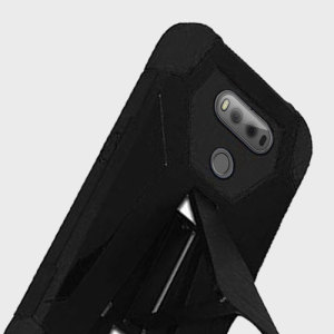 Equip your LG V20 with military grade protection and superb functionality with the ultra-rugged Hybrid Turbo case in black from Zizo. Coming complete with a handy kickstand for viewing media in both portrait and landscape.