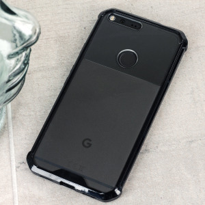 Protect the back and sides your Google Pixel with this incredibly durable black and clear backed Defence Fusion Case by Cruzerlite. Dual TPU and PC components provide a lightweight and sleek protective fit.