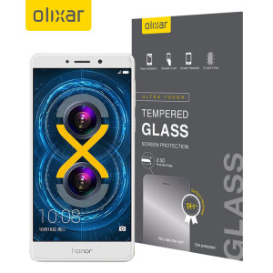 This ultra-thin tempered glass screen protector for the Huawei Honor 6X from Olixar offers toughness, high visibility and sensitivity all in one package.