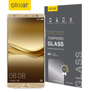This ultra-thin tempered glass screen protector for the Huawei Mate 9 from Olixar offers toughness, high visibility and sensitivity all in one package.