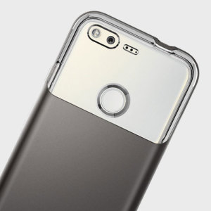 Preserve the super-sleek profile of your awesome Google Pixel while giving it maximum protection with this gunmetal Neo Hybrid Crystal case from Spigen.