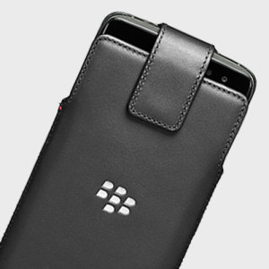 Hand crafted and finished in genuine leather with a soft inner lining, the official BlackBerry DTEK60 Leather Swivel Holster protects against bumps and scratches and features a 360 degree rotating belt clip.