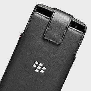 Dotée d'une superbe finition en cuir véritable, cet étui officiel BlackBerry DTEK60 a été conçu main. Celui-ci dispose d'une qualité irréprochable et intègre un astucieux clip ceinture rotatif à 360 degrés.