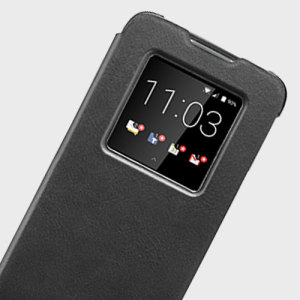 The Official Blackberry Smart Flip Case in black provides tough and stylish all round protection for your Blackberry DTEK60, keeping it looking as good as new. There's also a built-in notification window, so you can view your notifications instantly.
