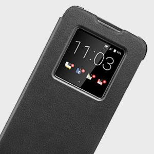 La housse officielle Blackberry smart est en cuir véritable et offre une excellente protection à votre Blackberry DTEK60 tout en lui ajoutant une touche d'élégance.