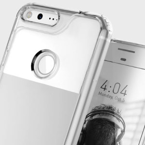 Protect your Google Pixel with this precision made clear case from Caseology. Made with a robust minimalist ethic, this see-through case offers protection for your phone while still maintaining its natural charms.
