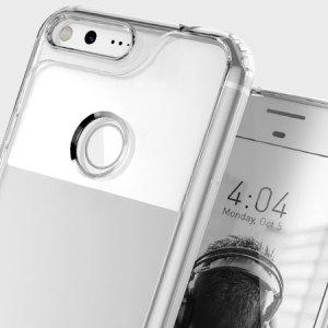 Protege tu Google Pixel XL con esta funda transaprente de Caseología. Hecha con una ética minimalista pero robusta, esta carcasa transparente ofrece protección para su teléfono mientras mantiene sus encantos naturales.
