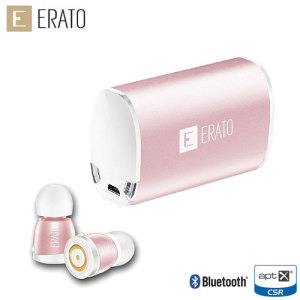 Featuring a unique design, the Erato Apollo 7 Bluetooth earphones in Rose Gold are one of the lightest on the market and offer a truly wireless listening experience.