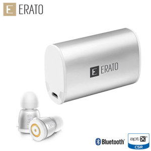 Featuring a unique design, the Erato Apollo 7 Bluetooth earphones in Liquid Silver are one of the lightest on the market and offer a truly wireless listening experience.