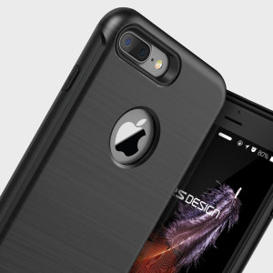 Protect your iPhone 7 Plus with this precisely designed case in black from VRS Design. Made with tough, durable yet slim materials, this hardshell construction with shock absorbent core follows the curves of your phone perfectly.