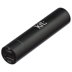 Kit 2000mAh Universal Portable Power Bank Emergency Battery - Black