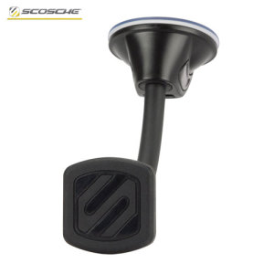 Create the perfect viewing angle for your smartphone in the car and conveniently mount quickly even with a case attached with the Scosche MagicMount Dash and Window Car Holder.