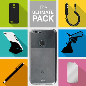 The Ultimate Pack for the Google Pixel consists of fantastic must have accessories designed specifically for the Google Pixel.