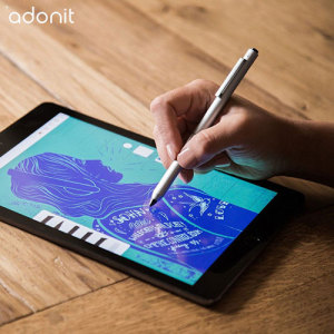 Responsive, intuitive and almost indistinguishable from writing on paper - that's the Adonit Dash 2 stylus. The new, improved 1.9mm precision tip makes writing, sketching and note-taking on your Android or iOS device easier and more rewarding than ever.