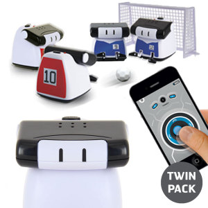Introducing the Bluetooth app controlled BeeWi Athlete Mini Robot. Control this mini robot with your smartphone and take on your friends and family with a football match, sumo match and even race each other. With this two pack, enjoy double the fun.