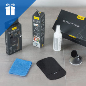 The Olixar Ultimate Gift Pack contains five essential accessories any smartphone user simply must own. Whether it's driving, charging or taking the perfect selfie - there's something in this gift pack for everyone, all at a jaw-dropping price.