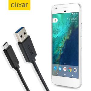 Varmista, että Google Pixel XL- laitteesi on aina täyteen ladattu tällä USB 3.1 Type-C Male To USB 3.0 kaapelilla! Voit käyttää kaapelia USB seinälaturin kanssa tai suoraan kiinnitettynä pöytä- tai kannettavaan tietokoneeseen.