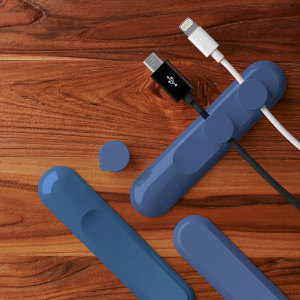 Tidy up your tangled wires with this versatile magnetic cable manager, perfect for use at home, in the office or even in your car.