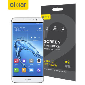 Keep your Huawei Nova screen in pristine condition with this Olixar scratch-resistant screen protector 2-in-1 pack.