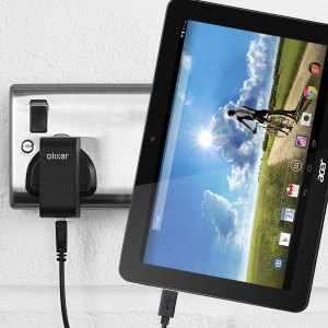Charge your Acer Iconia tablet quickly and conveniently with this 2.5A high power charging kit. Compatible with all models of the Acer Iconia tablet. Featuring mains adapter and USB cable.