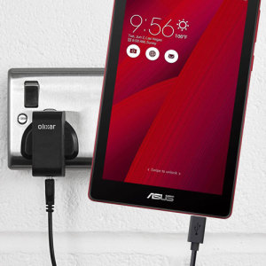 Charge your Asus Zenpad tablet quickly and conveniently with this 2.5A high power charging kit. Compatible with all Micro USB models of the Asus Zenpad. Featuring mains adapter and Micro USB cable.