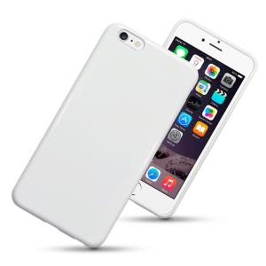 Custom moulded for the iPhone 6 Plus / 6S Plus, this solid white gel case provides excellent protection against damage as well as a slimline fit for added convenience.