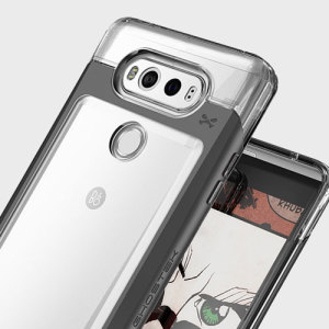 Ghostek Cloak 2 Series LG V20 Aluminium Tough Case - Clear / Black