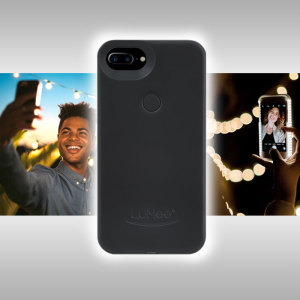 Introducing the newly designed Lumee Two case in black for iPhone 7 Plus / 6S Plus / 6 Plus. Moving on from the original, this new design is brighter and slimmer, meaning you can take even better selfies.