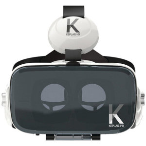 The Keplar Immersion VR Glasses brings virtual reality to the masses with this universally compatible headset. You'll be able to truly immerse yourself in virtual reality, with the adjustable lenses and built-in headphones.