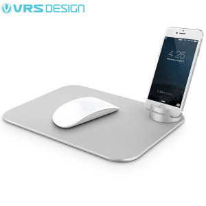 VRS Design Slate Aluminium Mouse Pad with Smartphone Holder
