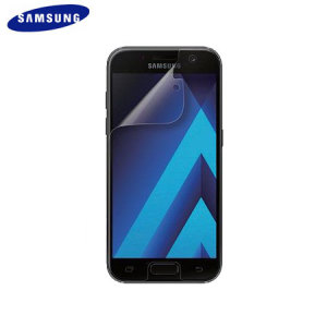 Keep your Samsung Galaxy A3 2017's screen in fantastic condition with the official Samsung scratch resistant screen protector.